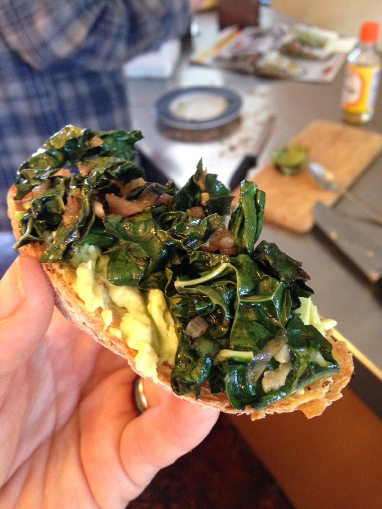 kale & avocado