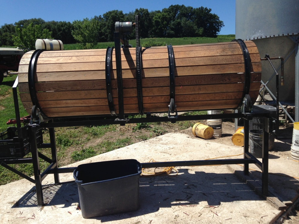 barrel washer