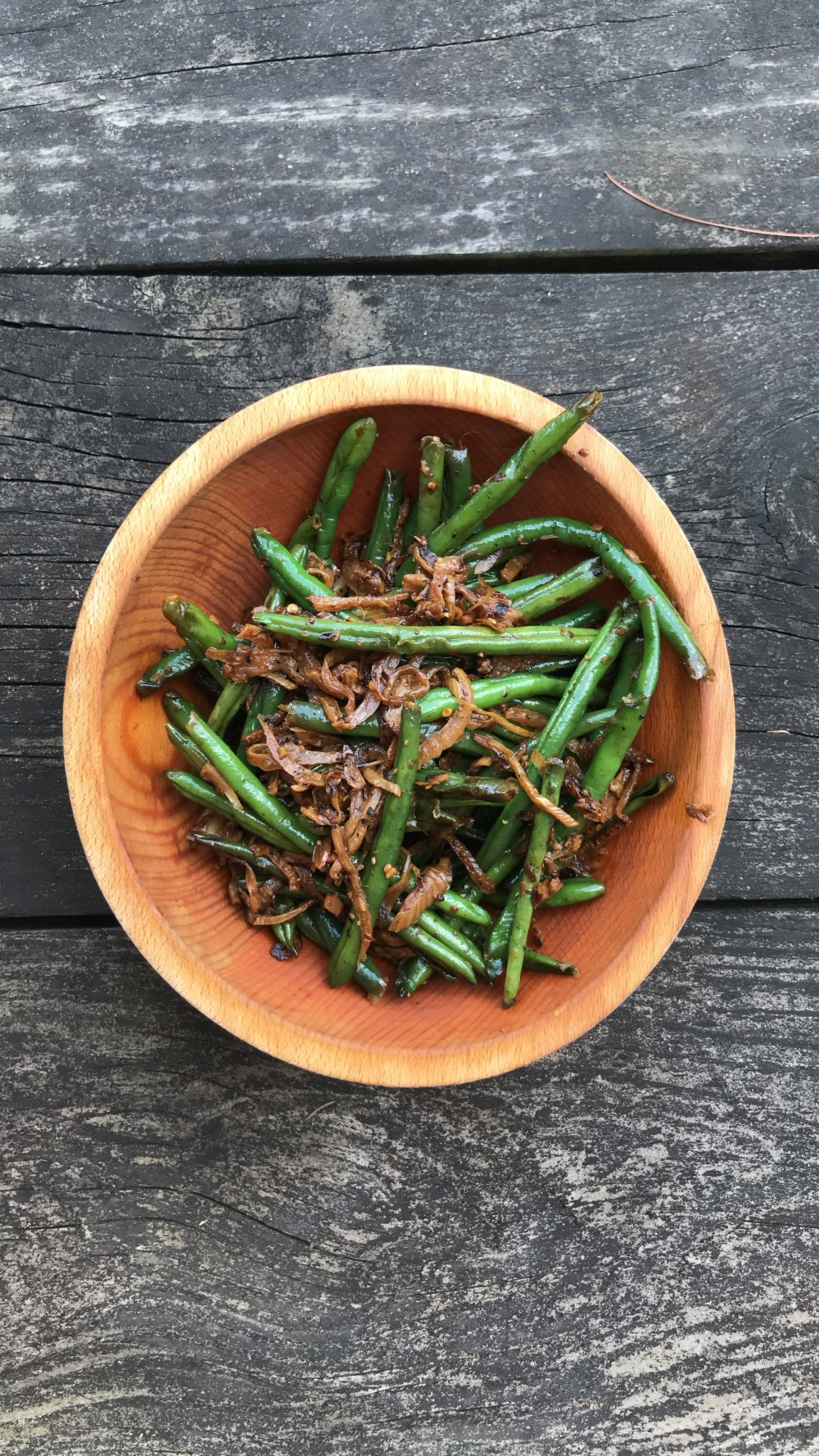 CSA6- Spicy Fennel Green Beans
