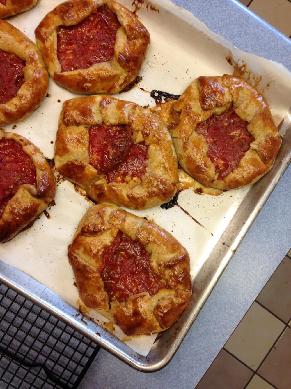 more tomato tart