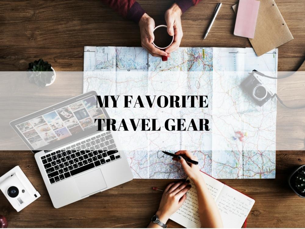 MY FAVORITE TRAVEL GOODS