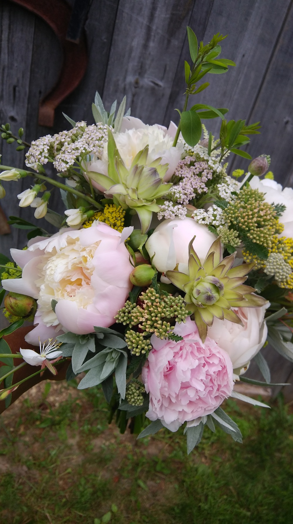 bridal bouquet for mary 6-15-18